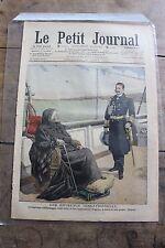 Petit journal illustré N°873 1907 Empereur Allemagne Eugénie Thistle Versaille