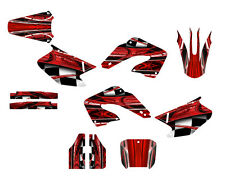 2000 2001 CR 125 250 Graphics CR125R CR250R deco kit #2001 Red