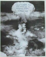 Enola Gay Pilot Paul Tibbets Signed Photograph Atomic Bomb Japan World War II