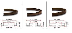 Rear hub Magnetic reluctor rings for Audi/Seat/ Skoda/VW