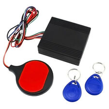 Motorcycle IC Card Induction Invisible Immobilizer Lock Anti-theft Alarm System