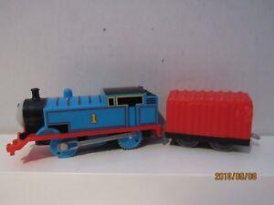 THOMAS THE TRAIN TRACK MASTER THOMAS , RED BOX CAR