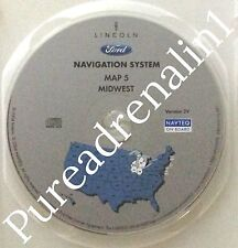 2003 LINCOLN NAVIGATOR SPORT SUV NAVIGATION MAP GPS DISC CD MIDWEST MI WI IL IN