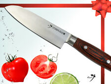 Japanese VG10 Steel Chef's Small Santoku Knife 4.7 inch Vegetable Cutlery