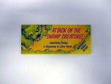 GI JOE ATTACK OF SWAMP CREATURE CATALOG Vintage Brochure Booklet COMPLETE 1990