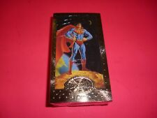 1994 SUPERMAN THE MAN OF STEEL PREMIUM EDITION NON-SPORT COMPLETE CARD SET 1-90.