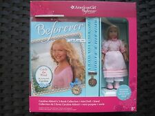 American Girl Caroline Mini Doll With Stand & 3 Books-New In A Boxed Set