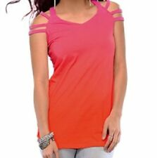 Summer/Beach Solid Petite Tops & Blouses for Women