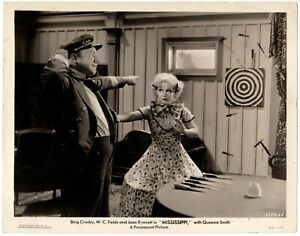 *MISSISSIPPI (1935) W.C. Fields & Queenie Smith on Riverboat Paramount Musical