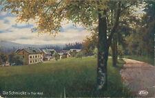 Ansichtskarte Die Schmücke im Thür. Wald um 1900 Dorf  (Nr.795) -III