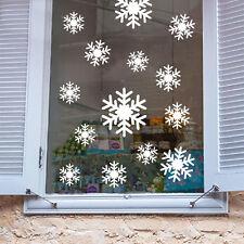 Pour Flocons De Neige Amovible Mur Fenêtre Décalques Vinyles Autocollants