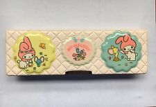 Sanrio - My Melody - Pencil Box Case - Vintage 1980s Stationery - Japan 1976