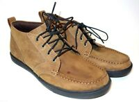 TIMBERLAND Earthkeepers Brown Leather Chukka Desert BOOTS Men's 8