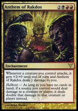 MTG Magic - (R) Dissension - Anthem of Rakdos - SP