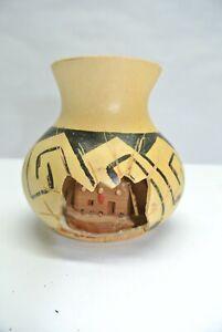 Neat Handmade Pueblo-Home-In-A-Vase Decoration