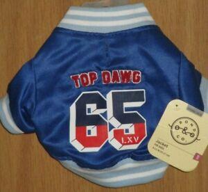 Bond & Co. XXS 9 - 11 IN Top Dawg Athletic Dog Jacket