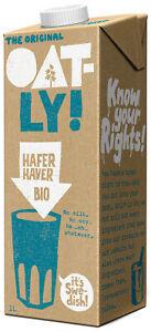 Bio Haferdrink Original mit Meersalz, 1 l NEU & OVP von OATLY