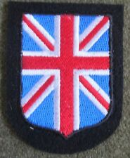 WWII GERMAN WAFFEN BRITISH UNITED KINGDOM LEGION TUNIC SLEEVE SHIELD