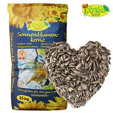 25kg Sonnenblumenkerne gestreift Vogelfutter Wildvögel Streufutter Birds Garden