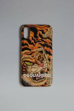New Dsquared2 Tiger Print IPhone X Cover