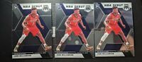 2019-20 Panini Mosaic Zion Williamson RC NBA Debut 3 Card Lot Invest Now!!