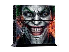 Sinister Smile Joker Sticker Skin Full Body For PS4 Console 2 Controller Vinyl