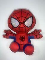 "TY Beanie Baby 6"" SPIDER-MAN Spiderman (Marvel) Plush Stuffed Animal Toy"