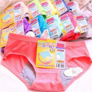 5 x Young Girl Intimates Physiological Panties Menstrual Sanitary Period