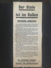 Original USSR WW 2 Surrender Leaflet Dropped on German Troops Safe Passage 2