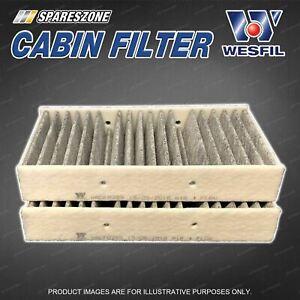 Wesfil Cabin Filter for Mercedes Benz ML63 AMG ML250 ML350 ML400 ML500 W166