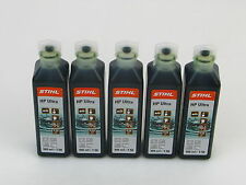 STIHL 5 Stück x 100 ml Zweitaktmotoröl Stihl HP Ultra 0781 319 8060