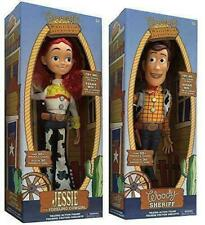 2020 Toy Story 4 Deluxe Talking Woody Doll Action Figure 38cm Toy Detector