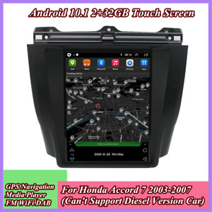 9.7'' Android 10.1 Stereo Radio GPS WiFi FM For Honda Accord 7 2003-2007 2+32G