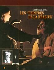 Les Peintres de la réalité - Orangerie 1934,Georges de La Tour, NEUF