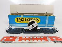 CA928-0,5# Trix H0 3680 Tiefladewagen mit Siemens-Ladegut, ohne Achsen, OVP