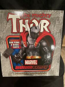 Sideshow Bowen MIGHTY THOR DESTROYER ARMOR MINI-BUST 766/1000 MARVEL READ!!!