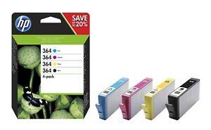 Genuine HP 364 Multipack B/C/Y/M Ink Cartridges SD534EE | FREE 🚚 DELIVERY