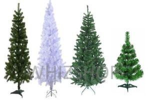 ARTIFICIAL GREEN XMAS TREE FESTIVE 3FT/4FT/5FT/6FT/7FT