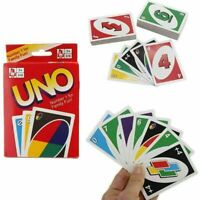 UNO Card Game 108 PLAYING CARDS INDOOR FAMILY CHILDREN FRIENDS PARTY FUN UK