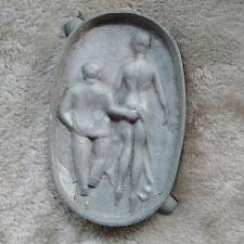 Aschenbecher Jugendstil Metall Erotika Antik
