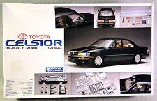 Gunze Sangyo 1/24 High-Tech Toyota Celsior Plastic & Metal Multi-Media Model Kit