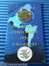 1996 Singapore WTO First Ministerial Conference $5 Commemorative Coin