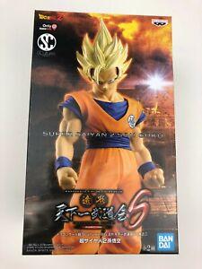 Banpresto Dragon Ball Z Son Goku Super Saiyan 2 PVC Statue Gamestop Exclusive