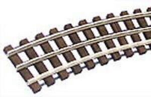 "Gargraves WT-MU-201-72 O Gauge 3 Rail Tinplate 72"" Makeup Curve Wood Tie"