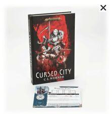 WARHAMMER CURSED CITY HARDBACK BOOK NOVEL  AOS GAMES WORKSHOP PRE RELEASE