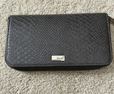 Thirty One Jewell Gray Snakeskin Wallet
