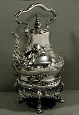 John Moore Silver Tea Set  c1845    CHINESE TIFFANY       * Was $7200 - $5900 *