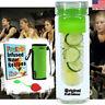 Water Bottle Fruit Infuser (25 oz) + Tea Infuser, Insulated Koozie, Recipes PDF