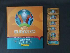 Panini EURO EM 2020 Tournament Edition - Hardcover Album + 5 Tüten (25 Sticker)