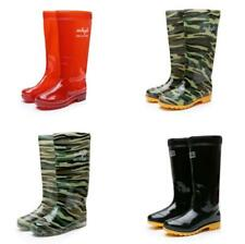 Mens High Top Oxfors Rain Boots Work Outdoor Farmland Waterproof Shoes Hot Lm14